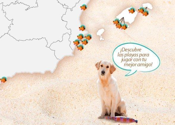 Playas para perros en Alicante y resto de España 2017